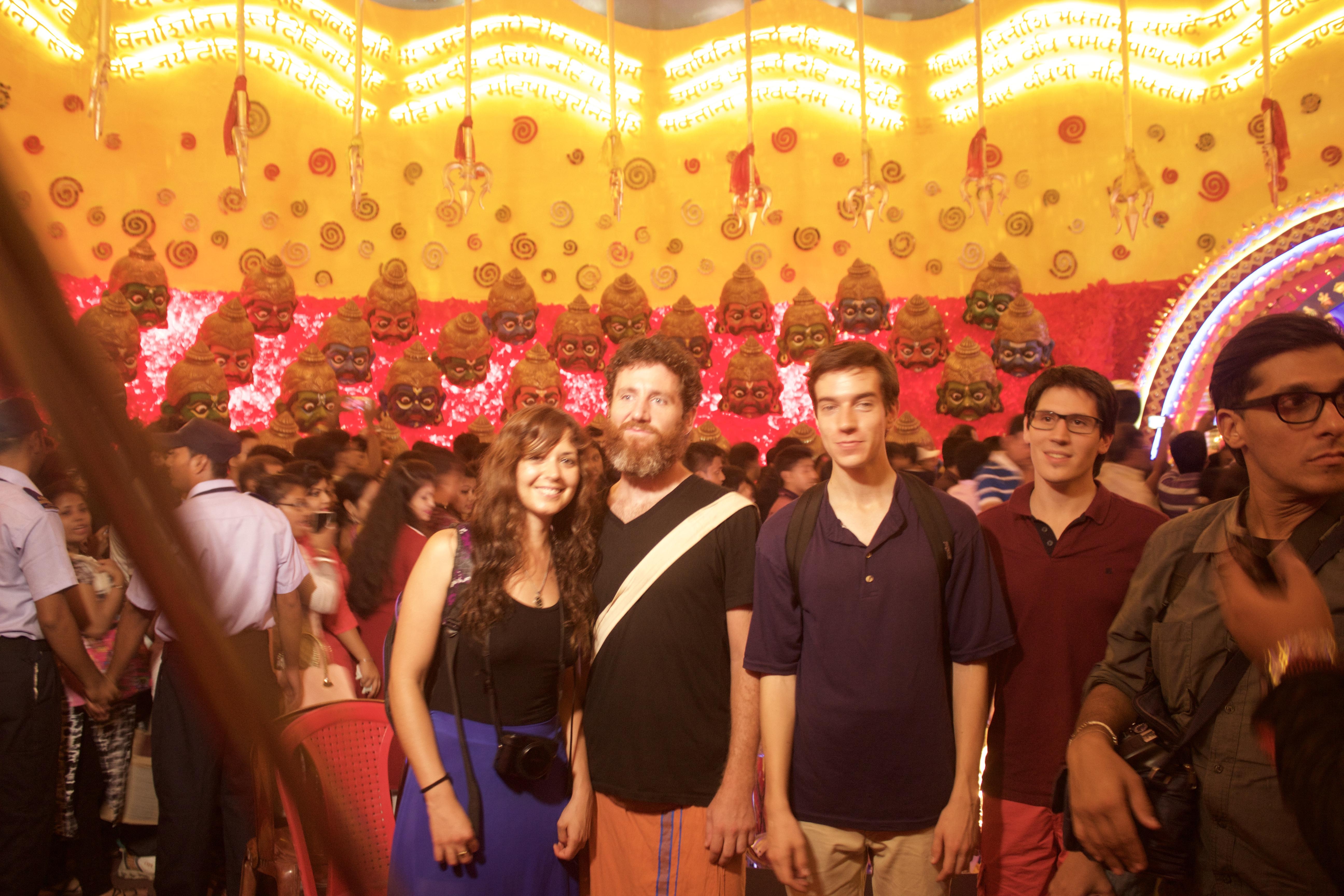 Claudia & Pedro & Max & Subh