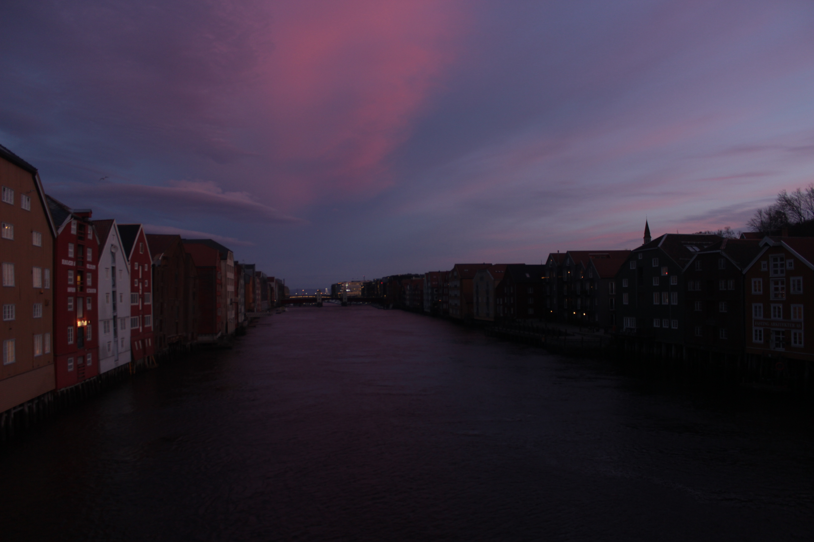 Trondheim Early Morning