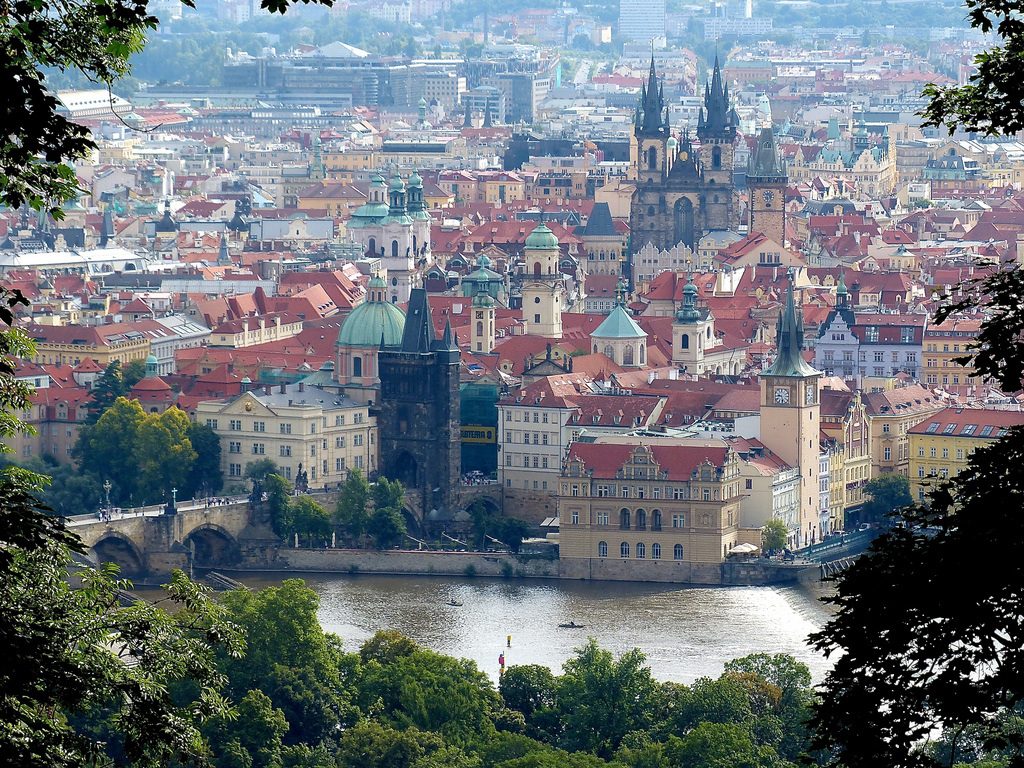 Old Town view from Petrin Hill