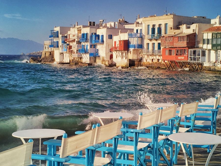 Little Venice , Mykonos