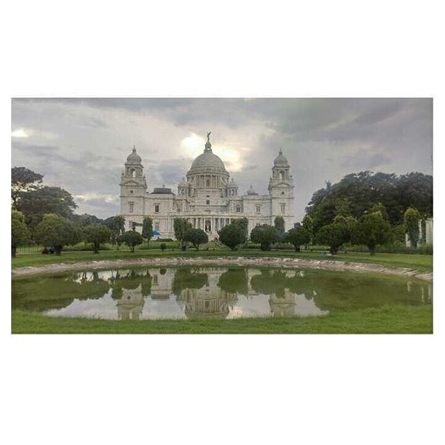 Walking tours Calcutta - An evening at Victoria Memorial._._._