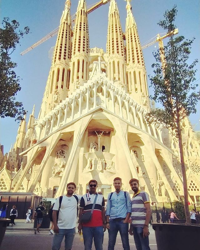 Good times at La Sagrada Familia