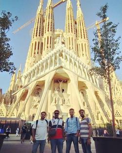 Good times at La Sagrada Familia
