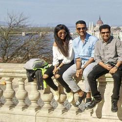 From L- R - Priya from Mumbai , Abhiram from Hyderabad , Rohit from Pune