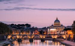 rome-sunset