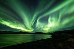 Northern Lights in Reyjavik