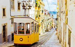 Tram rides Lisbon