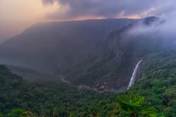 Nohkalikai Waterfall, Sohra (Cherrapunjee)