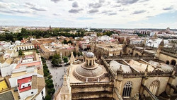 View from the top of Giralda #cathedrals