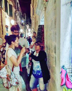 Ice Cream fights - Capturing Moments _Memories from Dubrovnik_#BackpackEurope #BackapckCroatia #Spli