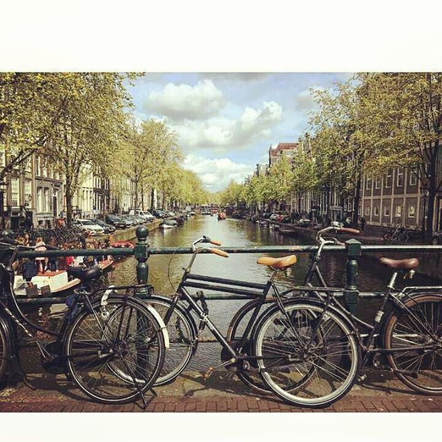 Amsterdam Canal &  Bicycles 🚲 ❤ 📷