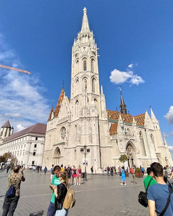 Standing tall - Mattias Church ._
