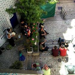 Simply Portugal .jpg While exploring Alfama in Lisboa