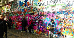 John Lennon wall - Praha