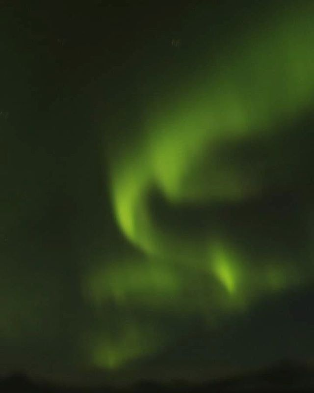 Watching Northern lights is an experienc