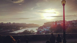 Beautiful day coming to an end - Simply Porto