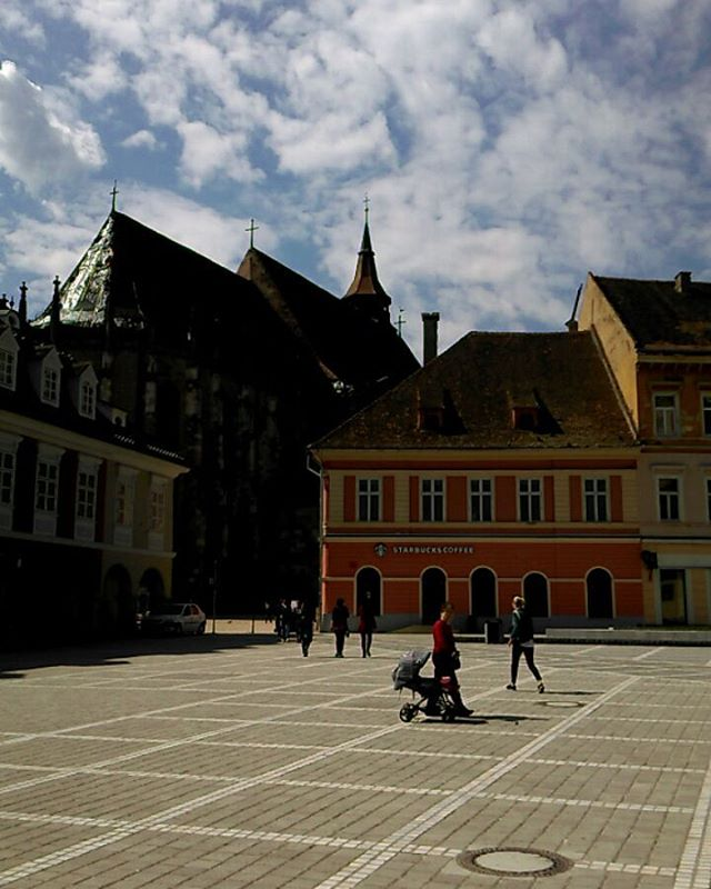 Enjoying the spring sun - #Brasov Always a great feeling to be back_._._._