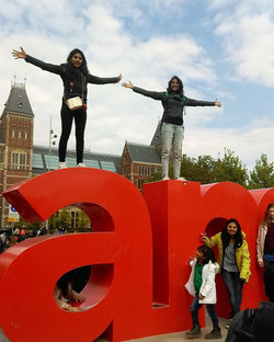 I ❤ Amsterdam - Two mad souls we met this time on our trip. No doubt 1St Euro trips our special