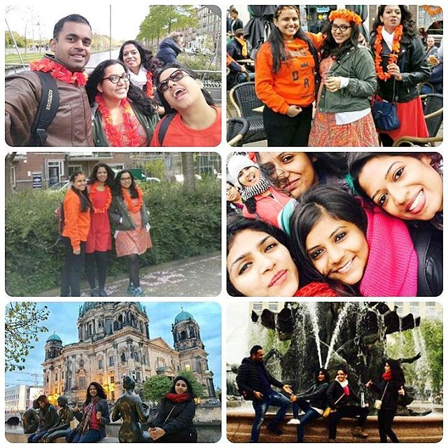 Memories from Berlin & King's Day in AmsterdamHappy faces