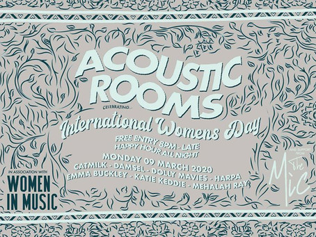Preview: International Women's Day at Acoustic Rooms