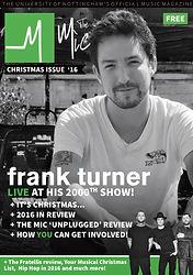 December 2016 - Frank Turner, The Fratel