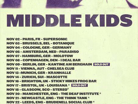 Live and in Interview: Middle Kids @ The Bodega