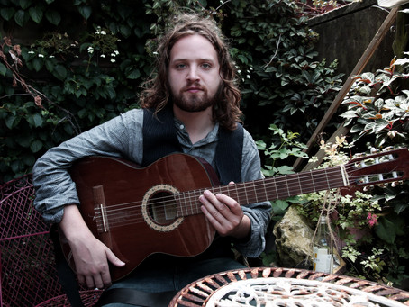 Songwriter Will Varley on tour with Frank Turner