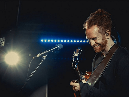An interview with Newton Faulkner over coffee