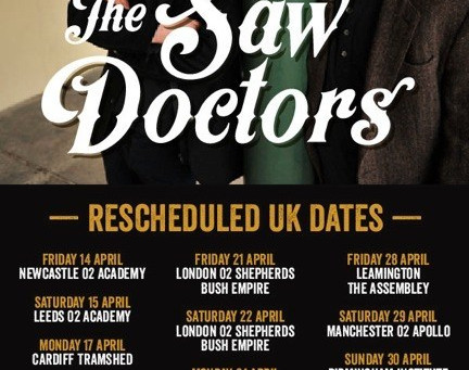 Interview with The Saw Doctors