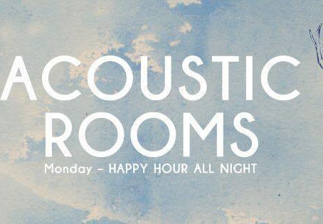 Acoustic Rooms Weekly: 01/04/19