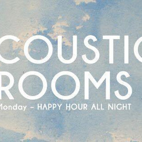 Acoustic Rooms Weekly: 08/04/19