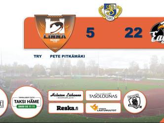 Lopputulos LRC - Turku Eagles