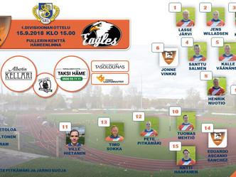 Kokoonpano LRC- Turku Eagles