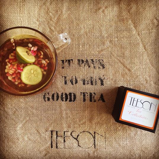 Frase TEESON Tea