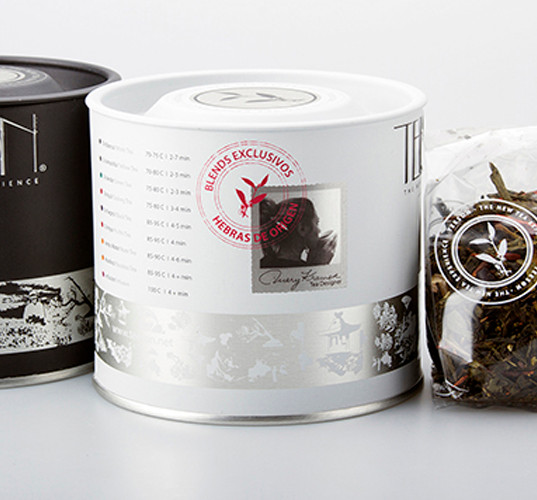 Latas TEESON Black & White y Blend Pu-Erh Fresh x 50g