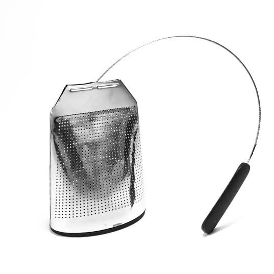 Filtro T-BAG de Acero Inox con Silicona Negra