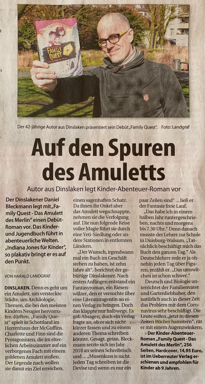 Niederrhein Anzeiger 25.03.2020