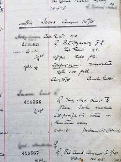 Thursday 15th August 1918
