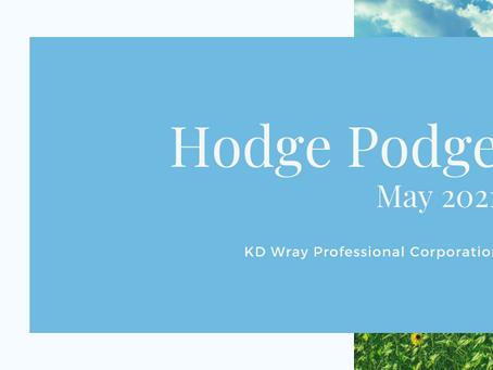 Hodge Podge May 2021