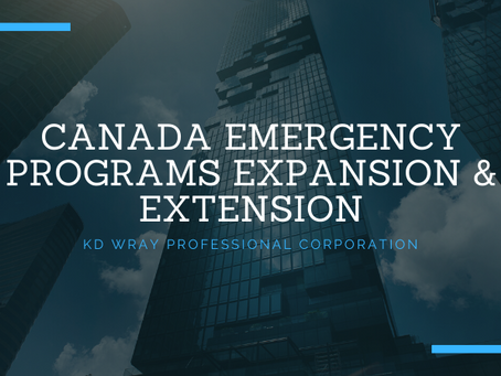 Canada Emergency Programs Expansion & Extension