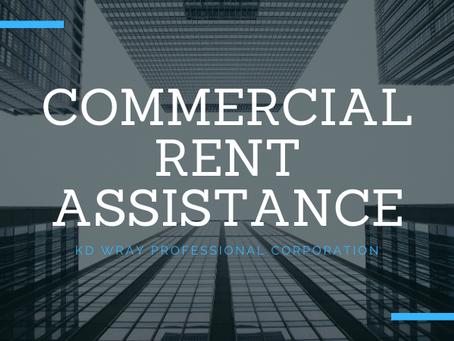 Commercial Rent Assistance