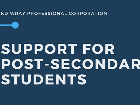 Support for Post-Secondary Students