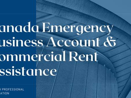 Canada Emergency Business Account & Commercial Rent Assistance