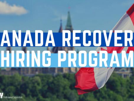 New Canada Recovery Hiring Program