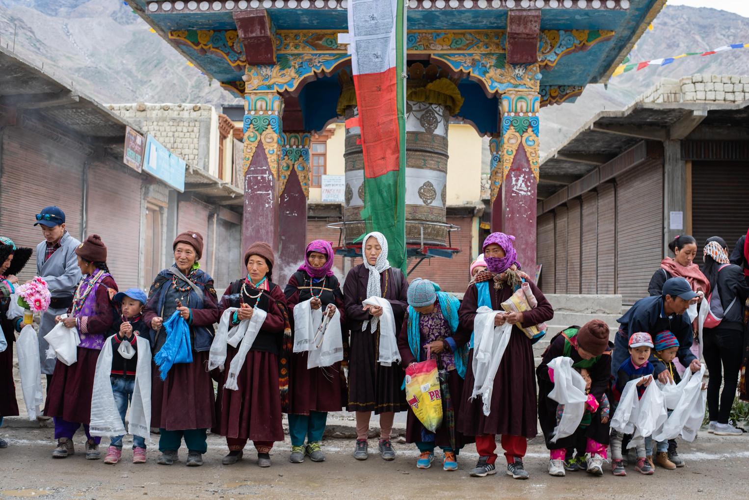 Waiting for His Holiness' arrival - Padum, Zanskar - July 2018