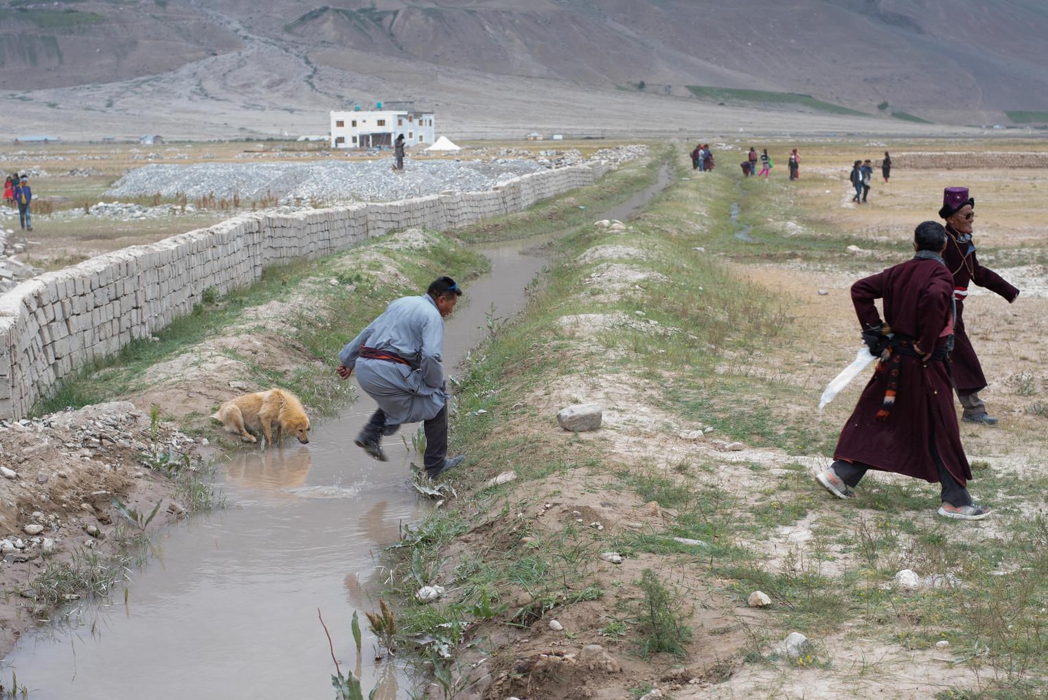 On their way to meet the Dalai Lama  - Padum, Zanskar July 2018