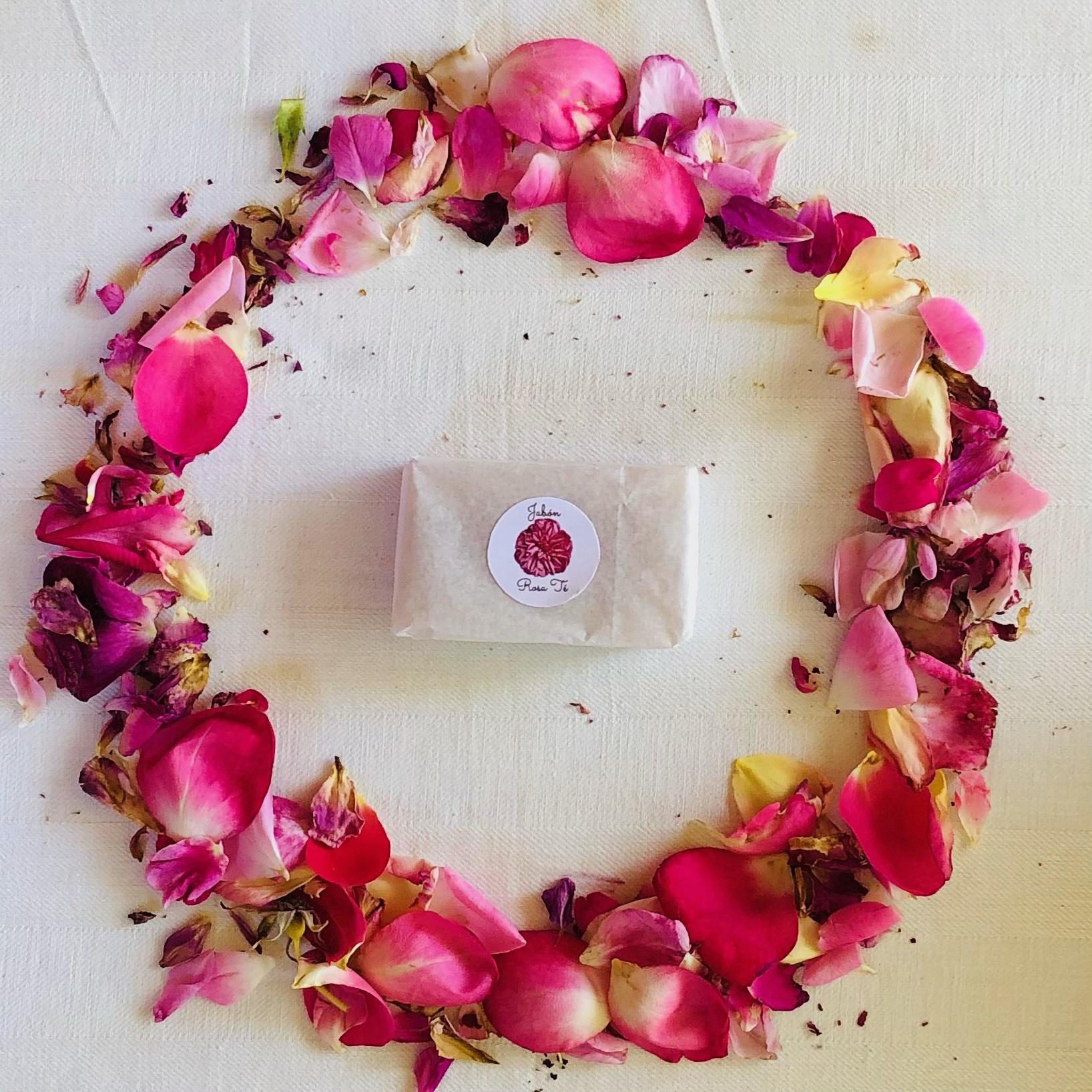Jabón Rosa Té