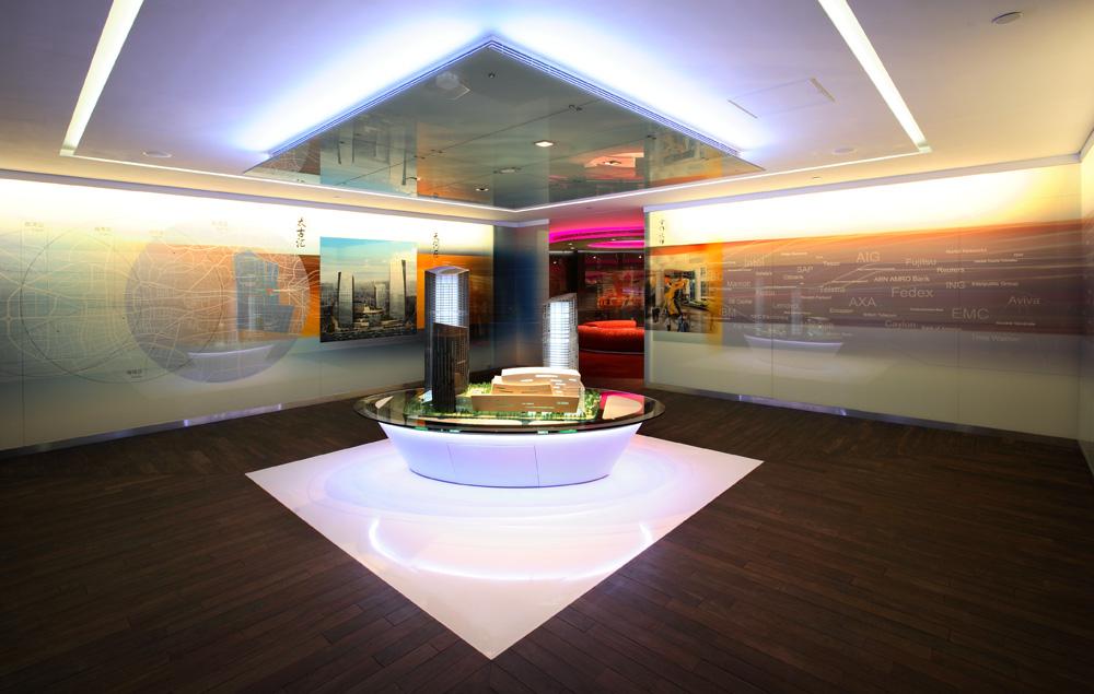 Exhibition Area . Hong Kong Suite