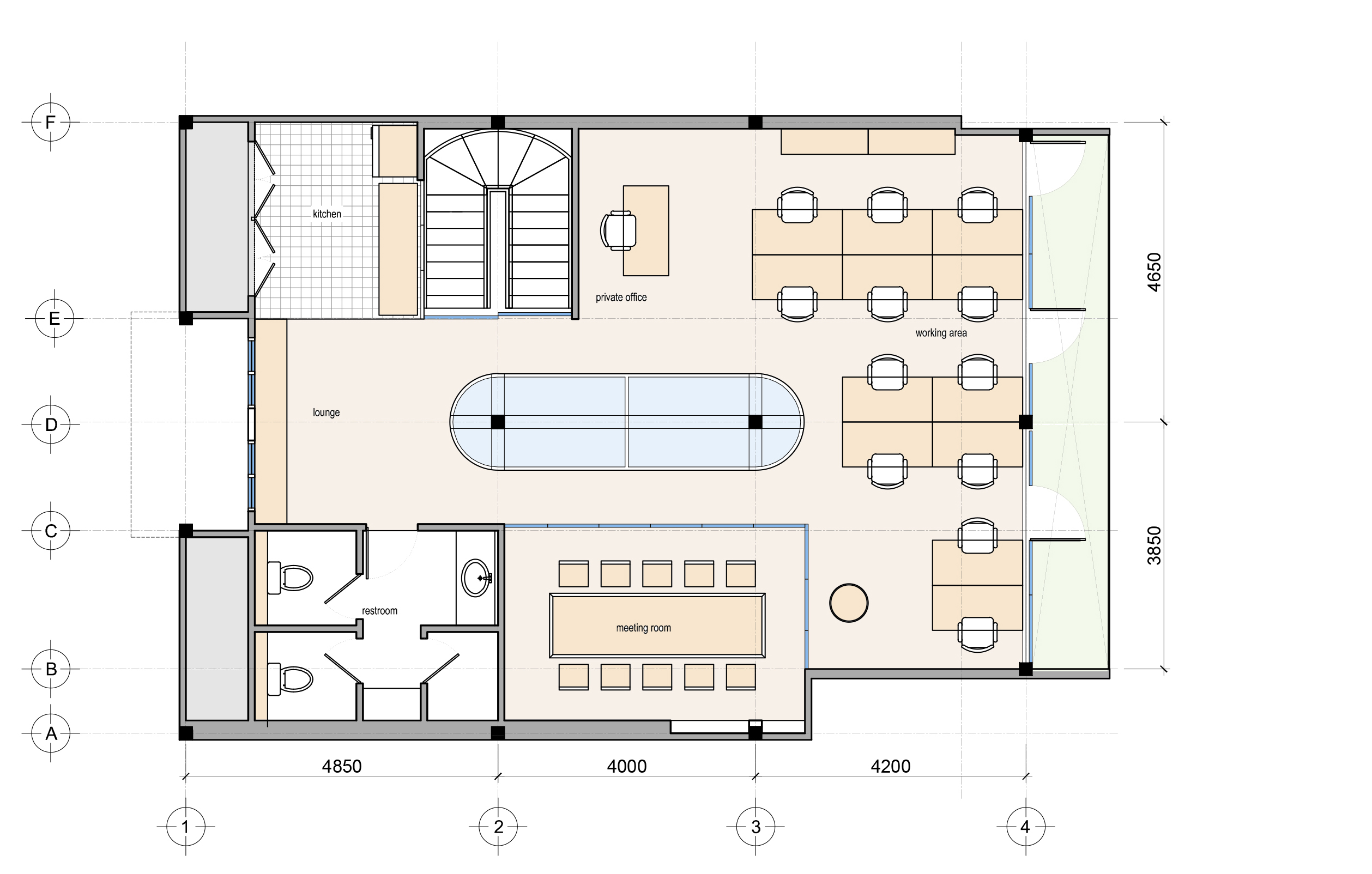Corecam Family floor plan