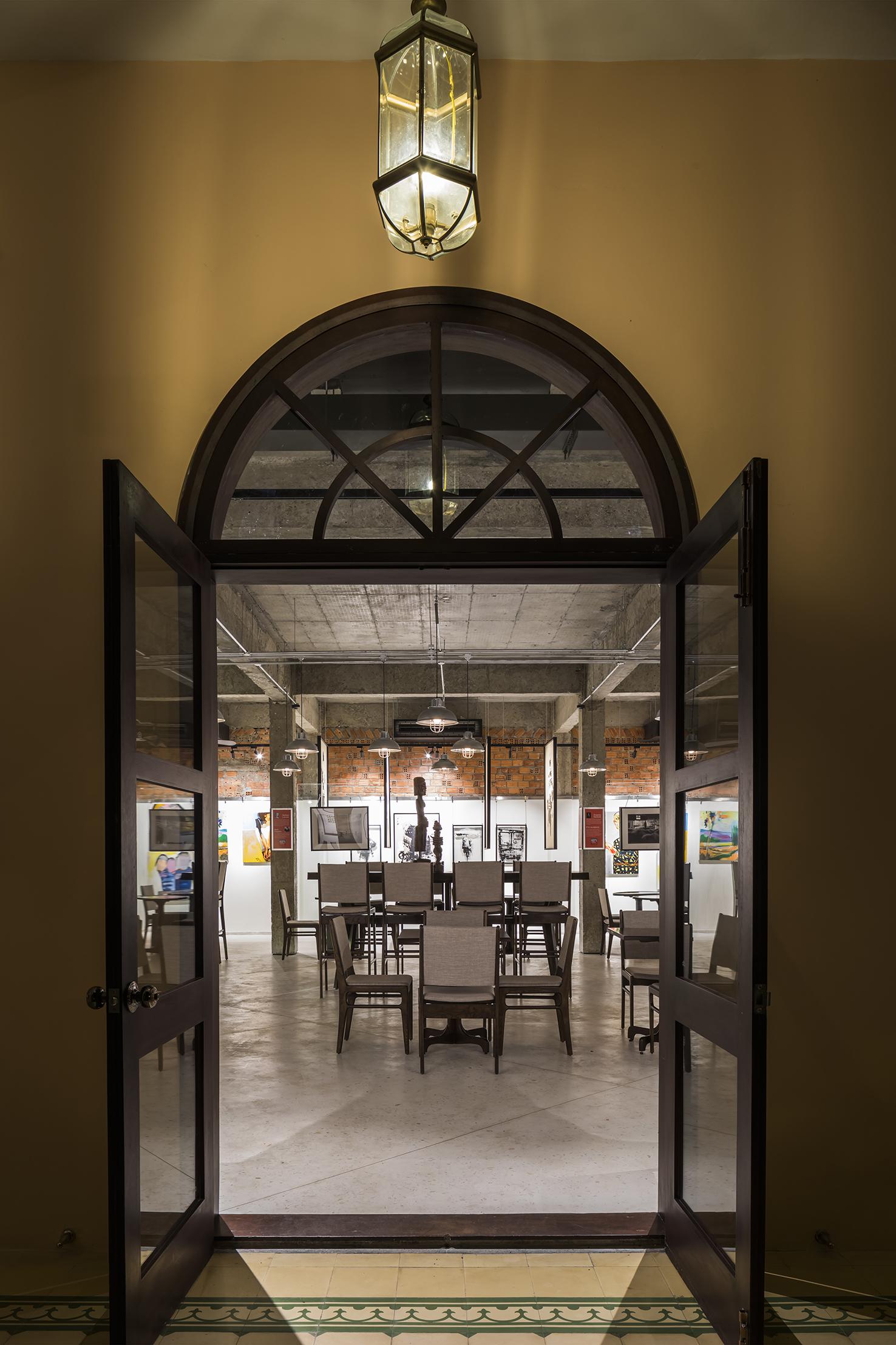View toward Interior Gallery